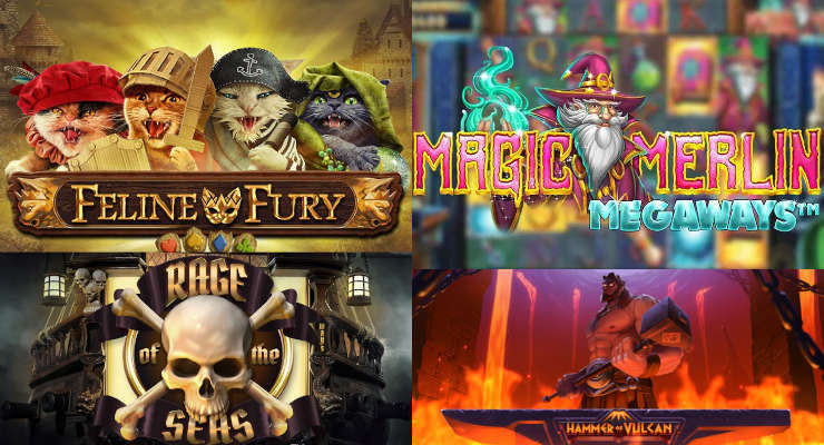 Die neuen Slots im September 2020 in den Online Casinos