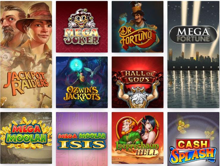 Die besten progressiven Jackpot Slots in den Online Casinos