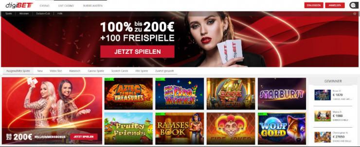 Digibet Casino Erfahrungen