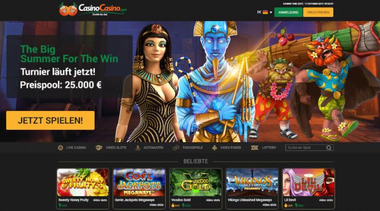 Neu auf GambleJoe: Erfahrungen mit CasinoCasino.com im ersten Test