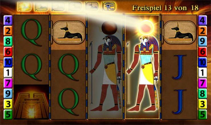 Eye of Horus von Merkur: Jetzt auch online spielen