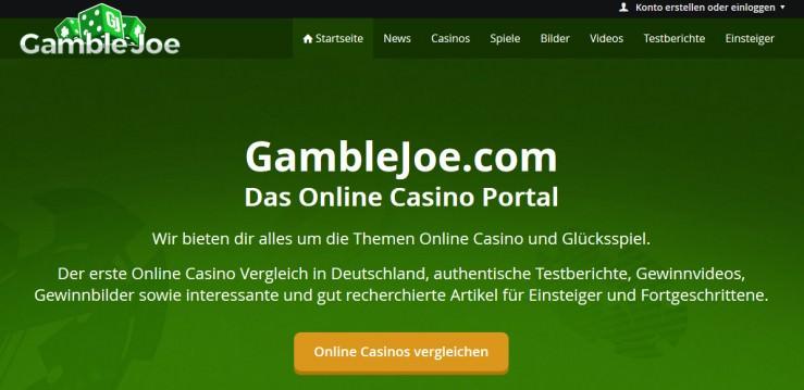 GambleJoe Reloaded: Verbesserte Version jetzt online