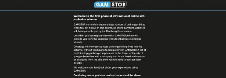 """""""GAMSTOP"""" bald Teil der britischen Glücksspiellizenz?"""