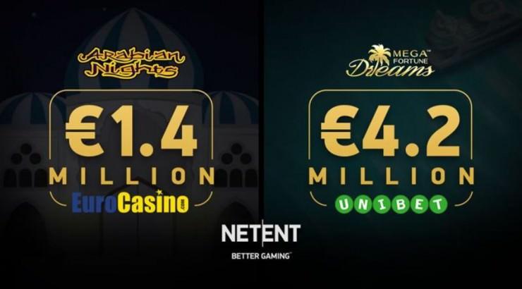 Neue Jackpot-Gewinner im Juni 2018 bei Arabian Nights & Mega Fortune Dreams