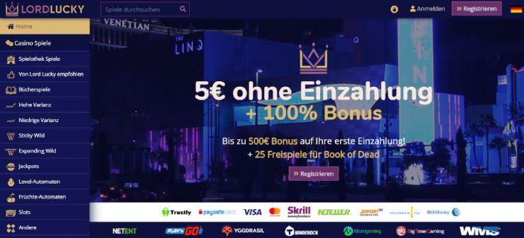Online Casino Lord Lucky im ersten Kurztest  Online Casino L...