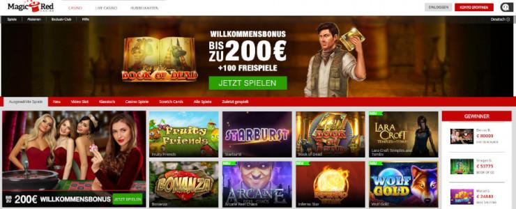 Das neue Online Casino auf GambleJoe: MagicRed Erfahrungen im ersten Test