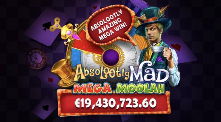 Mega Moolah Jackpot geknackt - knapp 20 Mio. Euro