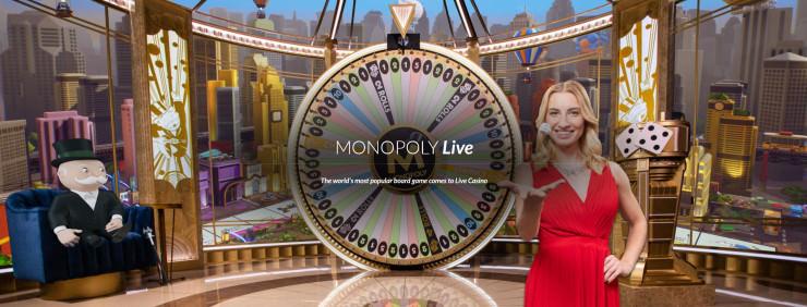 Das neue Evolution Gaming Glücksrad: Monopoly Live im High Roller Test