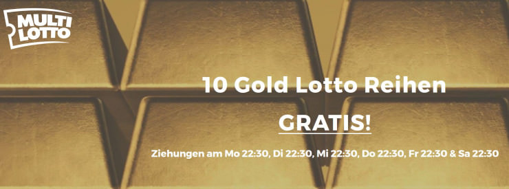 Neu auf MultiLotti: Bonus für die Gold-Lottery & neue Rubellose