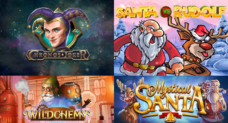 Neue Slots für Anfang Dezember 2019 in den Online Casinos