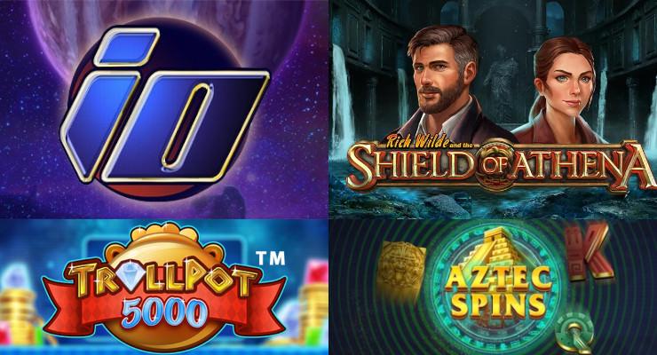 Neue Slots für Anfang Juni 2020 in den Online Casinos