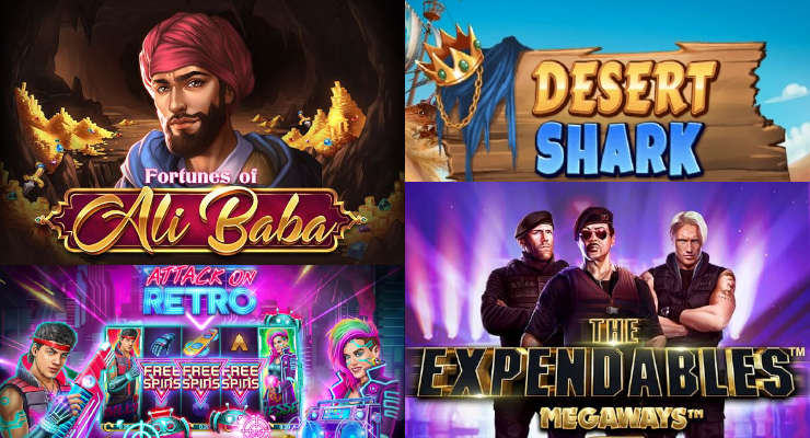Neue Slots in den Online Casinos für Anfang März 2020