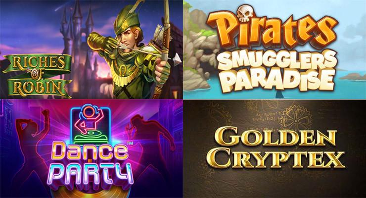 Neue Slots für Ende März in den Online Casinos