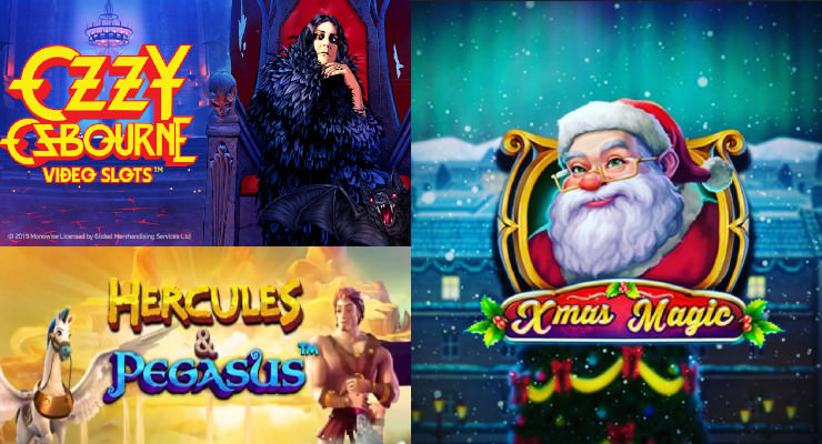 Neue Slots für Ende November 2019 in den Online Casinos