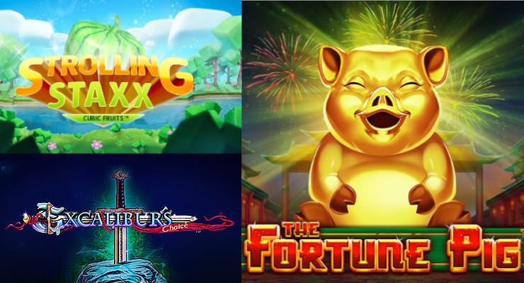 Neue Slots Anfang Februar 2019 in den Online Casinos
