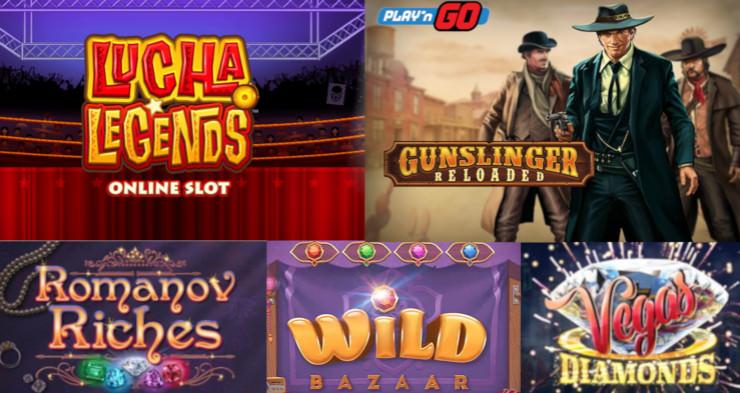 Neue Online Casino Slots im November 2018