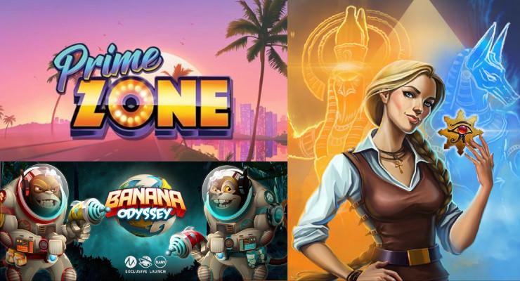 Neue Spielautomaten in den Online Casinos für Mitte Juli 2019