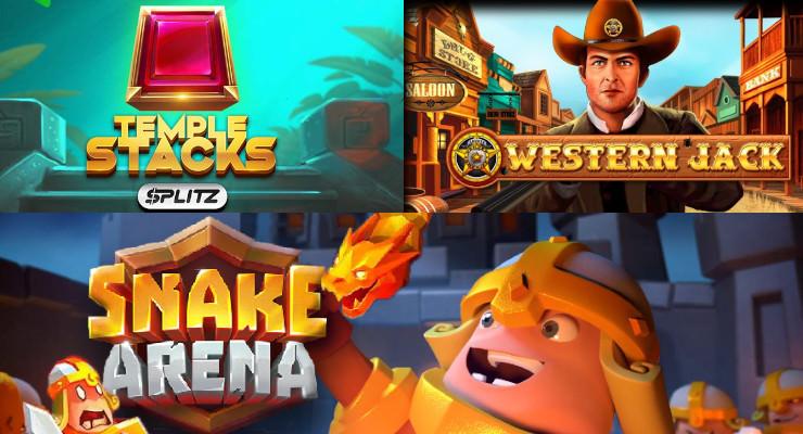 Neue Slots in der zweiten Januar-Woche 2020 in den Online Casinos