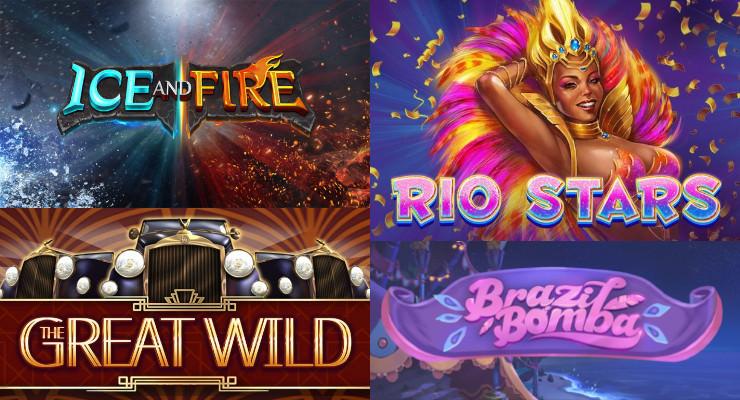 Neue Slots in den Online Casinos für die zweite Februar-Woche 2020