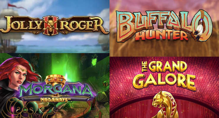 Neue Slots in den Online Casinos für Anfang September 2020