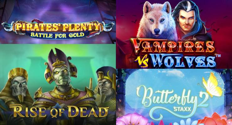Neue Slots für Ende August 2019 in den Online Casinos