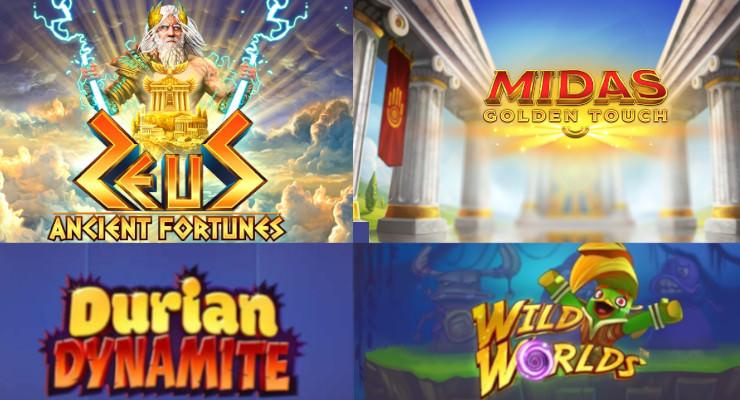 Neue Online Spielautomaten für Mitte April 2019