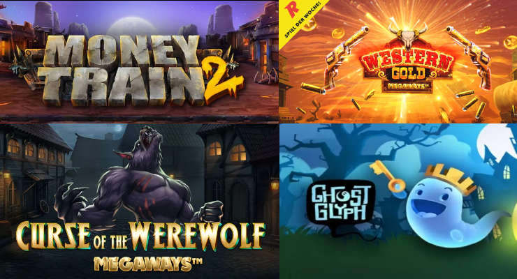 Neue Slots in den Online Casinos in der zweiten Septemberwoche 2020