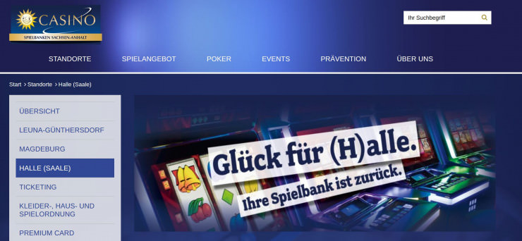 Gauselmann eröffnet neue Spielbank in Halle