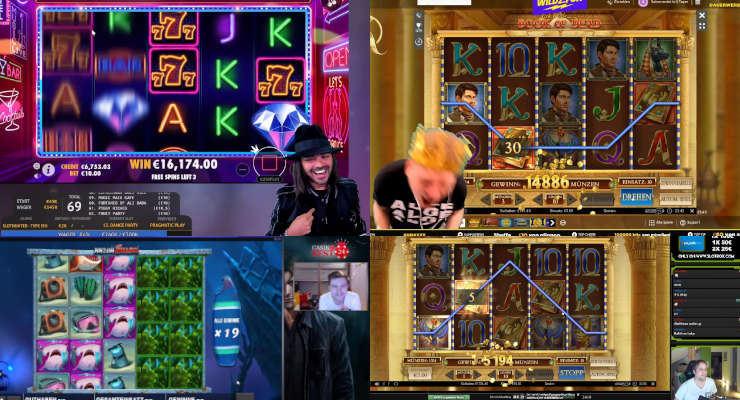 Neues von den Online-Casino-Streamern Ende Juni 2020