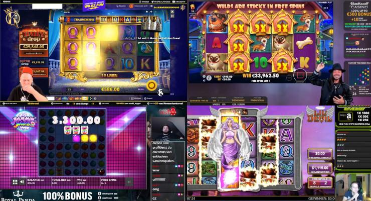 Neues von den Online-Casino-Streamern in der zweiten Juliwoche 2020