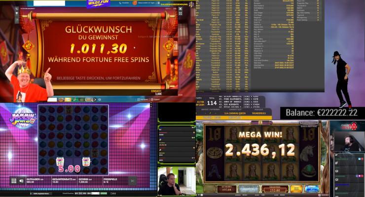 Neues von den Online-Casino-Streamern in der 4. Juliwoche 2020