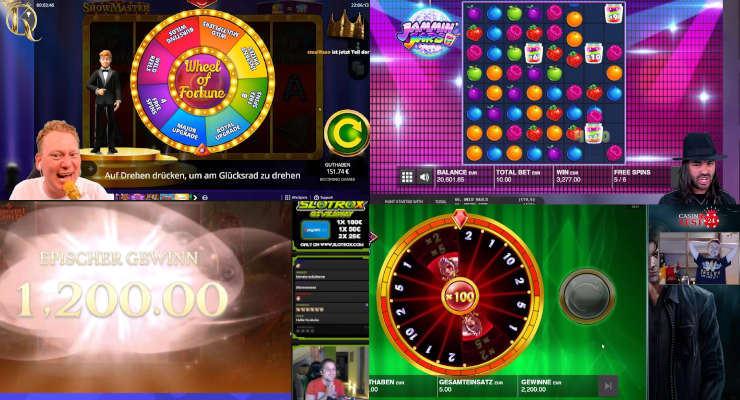 Neues von den Online-Casino-Streamern Anfang Juli 2020