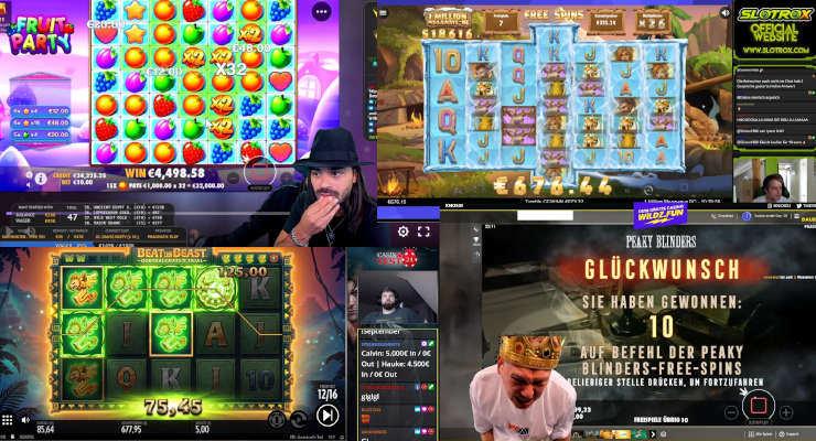 Neues von den Online-Casino-Streamern – Anfang September 2020
