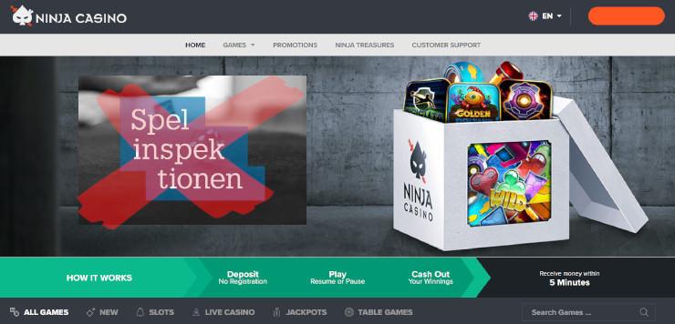 Schweden: Ninja Casino bekommt trotz Betreiberwechsel keine neue Lizenz