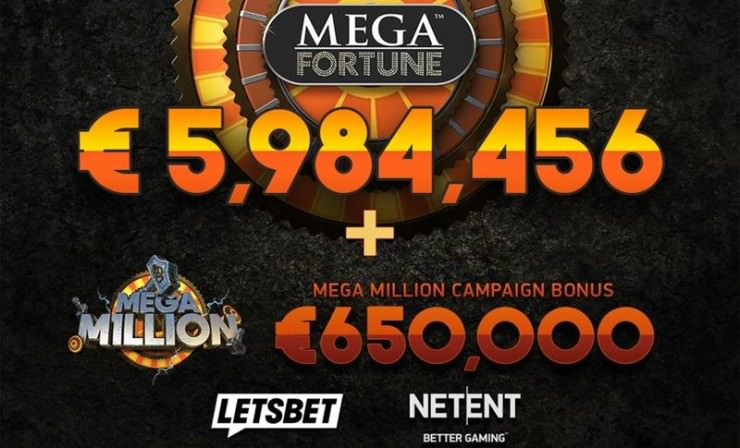 Mega Fortune Jackpot bei fast 6 Millionen Euro Ende Juli 2018 geknackt