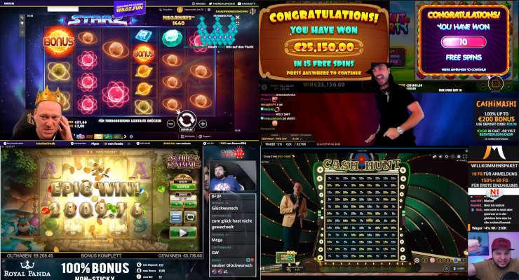 Neues von den Online-Casino-Streamern – dritte Juniwoche 2020