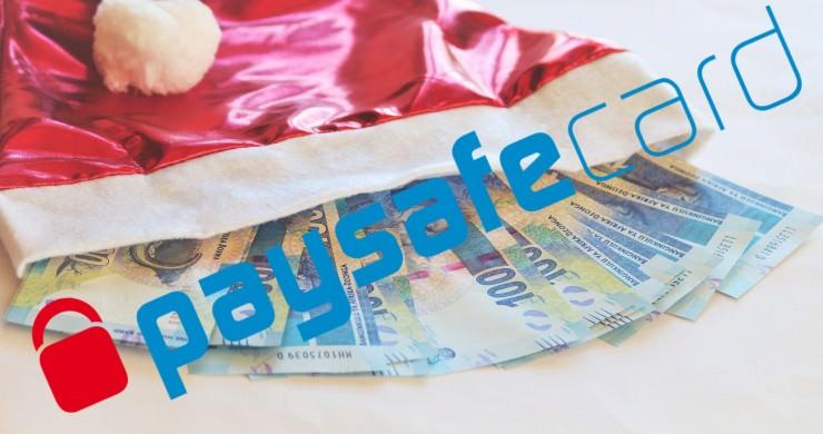 Matthias verlost Paysafecodes für 600 € zum Nikolaus 2017 an 32 treue Mitglieder