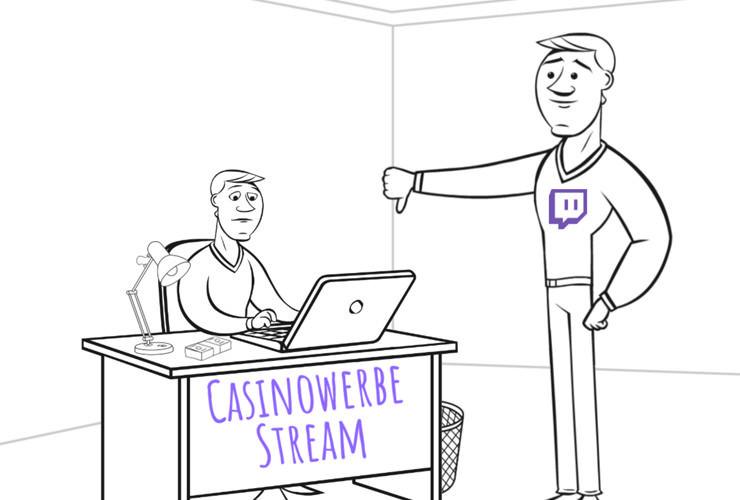 Sind Casino-Streams auf Twitch bald verboten?
