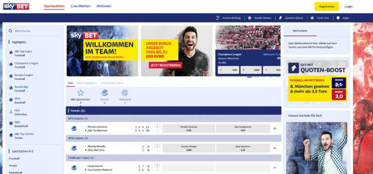 Gambling Commission: Skybet muss 1 Million Pfund Strafe zahlen