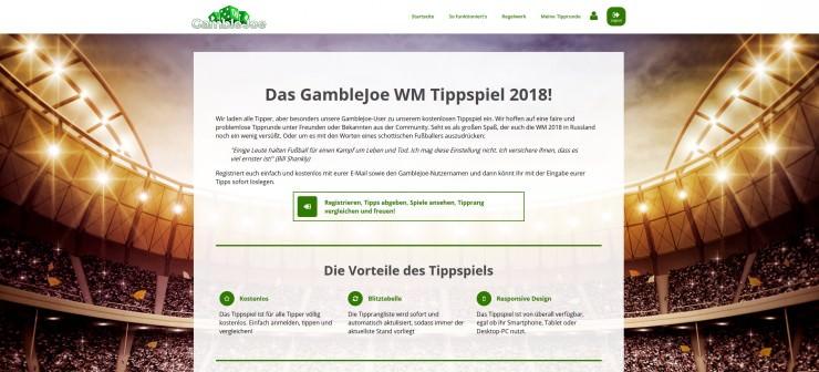 Tippspiel zur WM 2018: Mindestens 500€ Gesamtpreisgeld für die besten Tipper