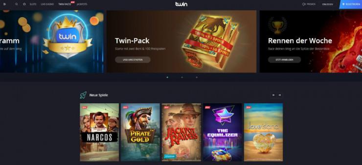 Neu auf GambleJoe: Erste Erfahrungen mit dem Twin Casino im kurzen Test