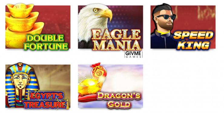 Vorstellung von Givme Games: Slots und Online Casinos mit den Games