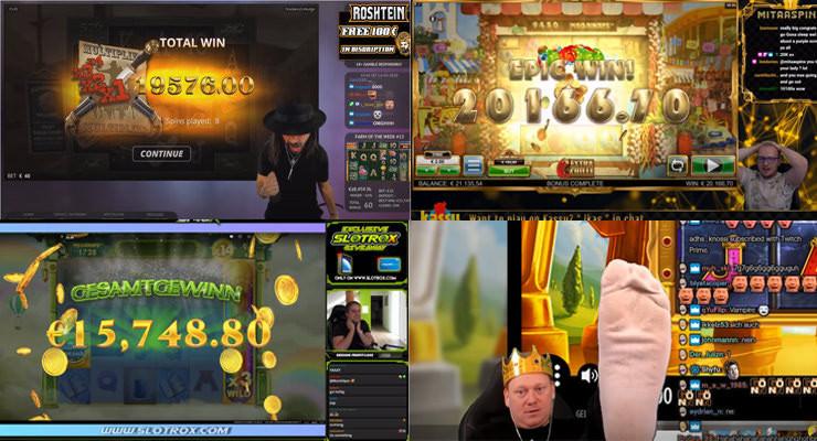Wochenrückblick der Online-Casino-Streamer – dritte Maiwoche 2020