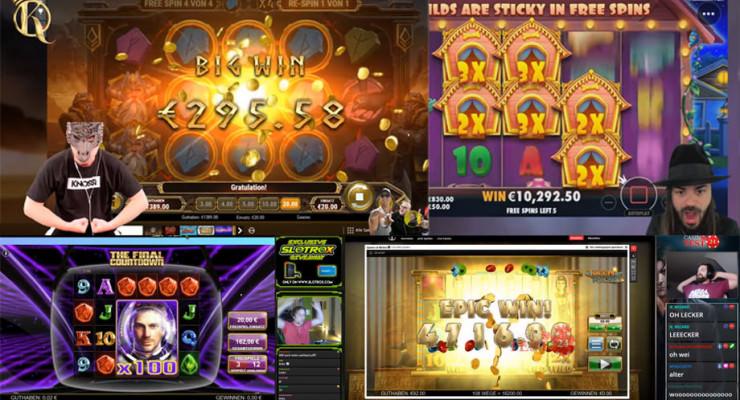 Wochenrückblick der Online-Casino-Streamer – erste Maiwoche 2020