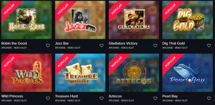 Vorstellung von Xplosive Slots: Spielautomaten und Online Casinos mit den Games