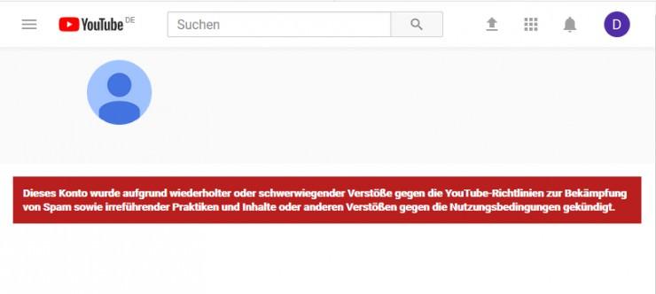 Youtube-Kanal von GambleJoe gesperrt: min. 1.000€ Belohnung ausgesetzt!