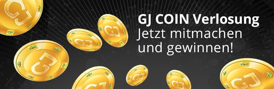 Wir verlosen 60 mal 100 GJ Coins