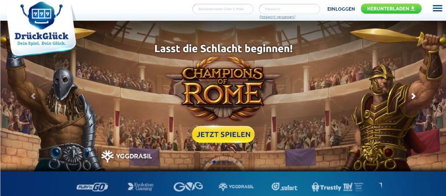 Titelbild des DrückGlück Testbericht