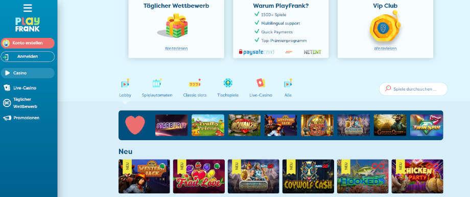 Titelbild des PlayFrank Testbericht