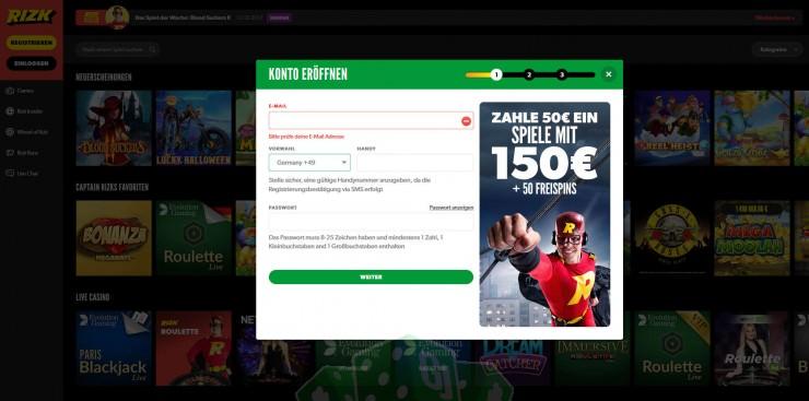 Rizk Casino Test: Mit Captain Rizk auf Reise durchs Glücksspieluniversum